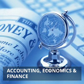 Accounting, Economics & Finance